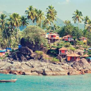 Flüge nach Goa in Indien hin und zurück für nur 373 € inkl. Gepäck