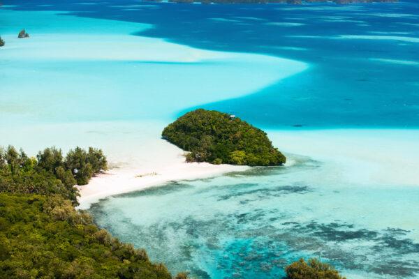 Palau Inseln in der Südsee