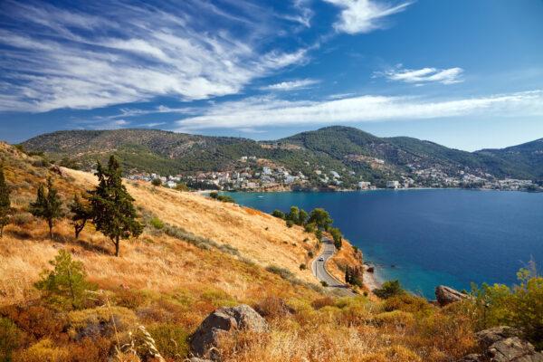 Peloponnes Küstenlandschaft