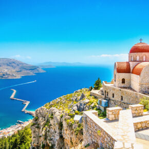 Single-Reise: 7 Tage Rhodos im 3* Hotel mit Halbpension, Flug & Transfer nur 310€