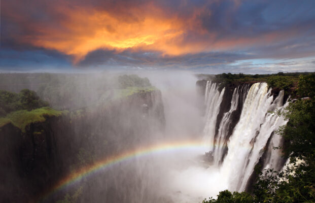 Sambia Victoria Wasserfälle