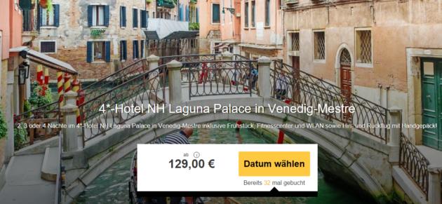 3 Tage Venedig Kurzurlaub