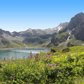 Vorarlberg Lünersee Brandnertal