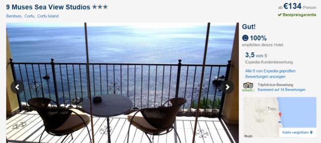 7 Tage Korfu Reiseschnäppchen