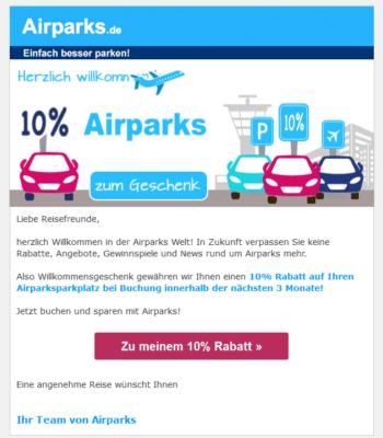 Airparks Gutschein
