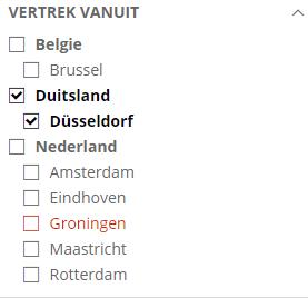 Corendon.nl Abflug