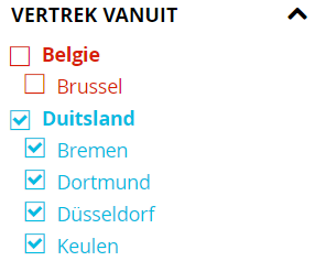 Corendon.nl Deutsch Abflugsland