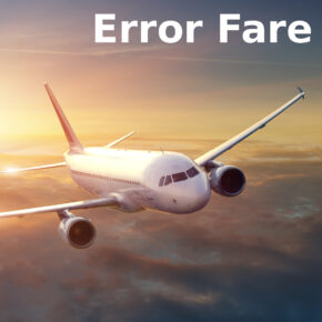 Error Fare Flug