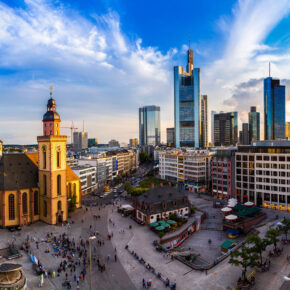 Städtetrip Frankfurt: 2 Tage im TOP 3* Hotel mit Frühstück nur 37€