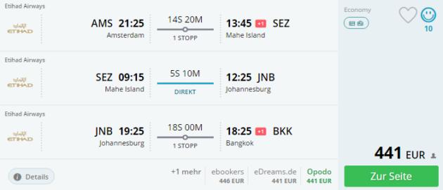 Amsterdam Flug
