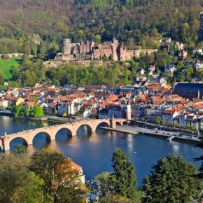 Heidelberg at spring, Germany