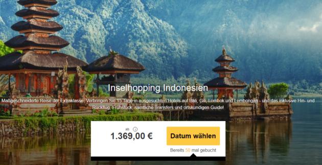 Inselhopping auf Indonesien