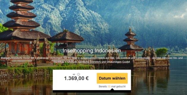 Inselhopping auf Indonesien