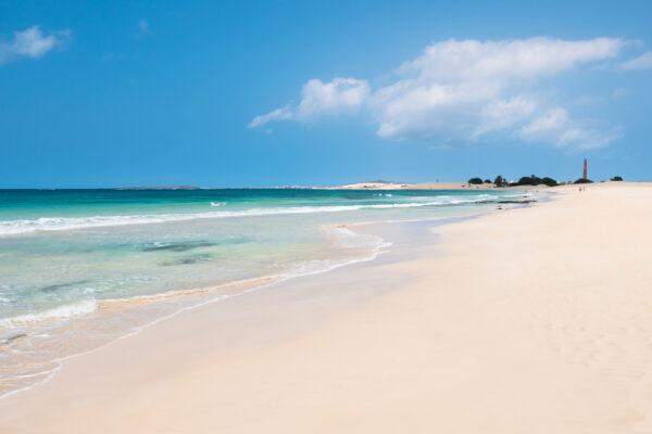 Kap Verde Boavista Chaves Strand
