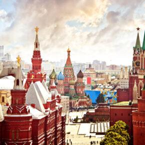 Günstig nach Russland: Direktflüge nach Moskau hin- und zurück nur 63€
