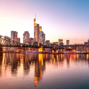 Frankfurt Kurztrip: 2 Tage in ein gutes Cityhotel am Wochenende mit Frühstück für 34€