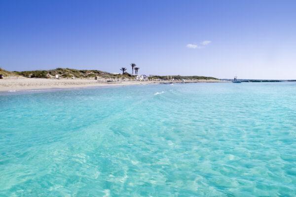 Illetas Strand auf Formentera