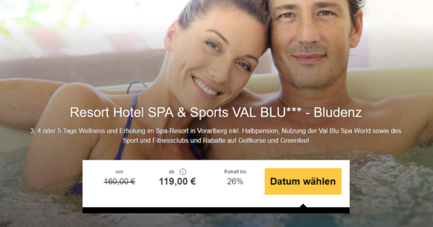 Wellness Angebot Österreich
