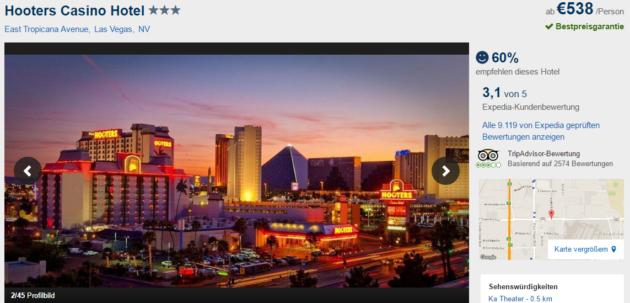 Hooters Hotel Vegas