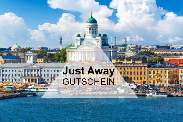 Just Away Gutschein