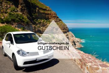 Billiger Mietwagen Gutschein: 10€ Rabatt auf Eure nächste Mietwagen Buchung