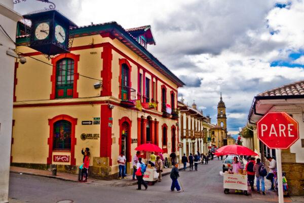 Straße in Bogota