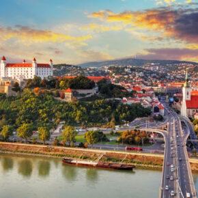 Wochenend-Trip Bratislava: 4 Tage in TOP Unterkunft inkl. Flug nur 73€