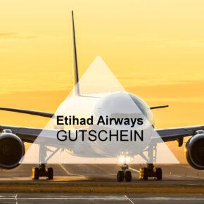 Etihad Airways Gutschein - 10% bei der Flugbuchung sparen