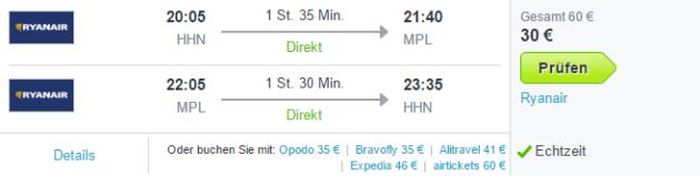 Flüge Montpellier