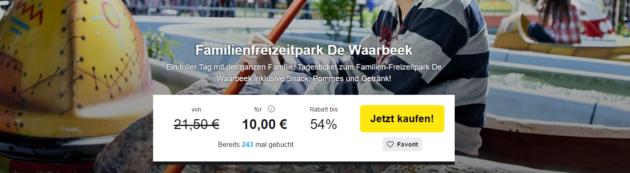 Gutschein de Waarbeek Freizeitpark