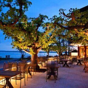 Hotel Heinzler am See Außenbereich