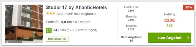 Algarve Hotel Deal
