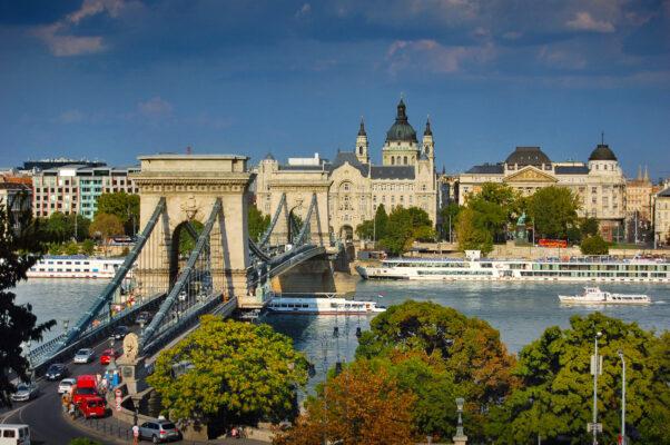 Kettenbrück in Budapest