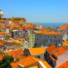 Kurztrip Portugal: 4 Tage Lissabon in zentraler Unterkunft inkl. Flug nur 47€