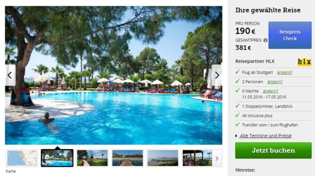 7 Tage Türkei Urlaubsdeal