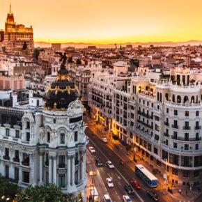 Spanien: 3 Tage Madrid mit zentraler Unterkunft & Flug nur 59€