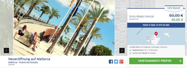 Neueröffnung Mallorca Vista Alegre Alcudia