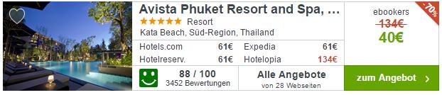 Phuket Hotel Angebot