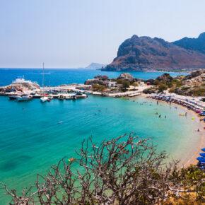 Griechenland im August: 7 Tage Rhodos im TOP 3* Hotel mit HP, Flug & Zug nur 303€ // mit Frühstück 268€