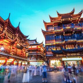 Error-Fare: Flüge hin & zurück nach Shanghai nur 246€