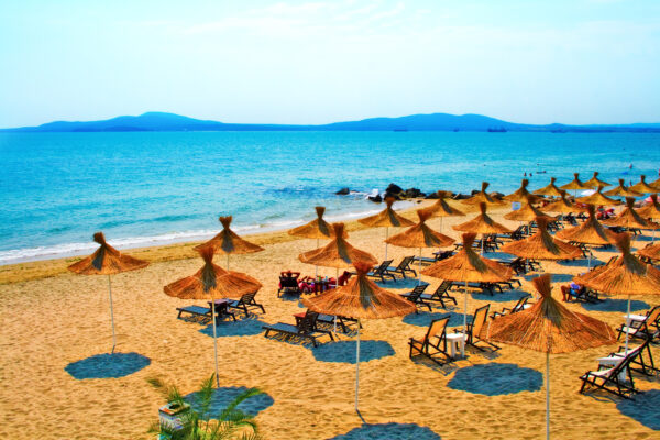 Sonnenstrand in Bulgarien