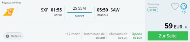 Berlin nach Istanbul