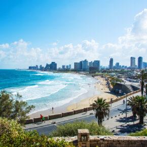 Wochenendtrip Israel: 4 Tage Tel Aviv mit TOP Unterkunft, Frühstück & Flug nur 124€
