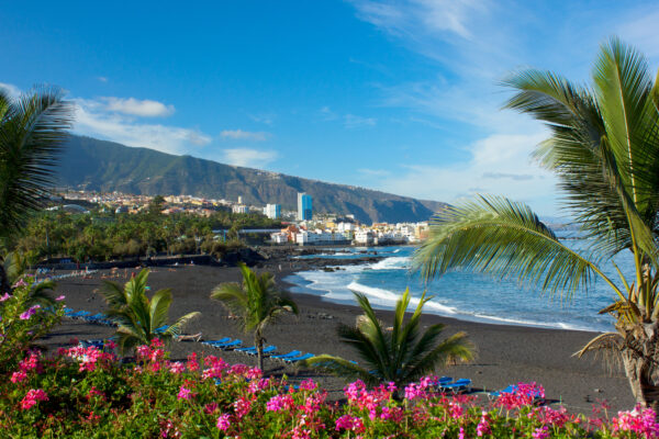 Playa Jardin in Puerto de la Cruz