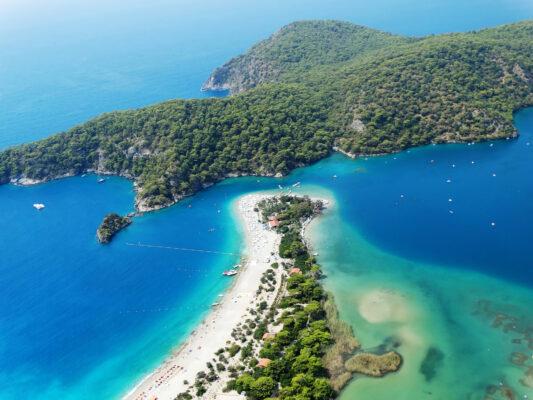 Türkei Ölüdeniz Lagune