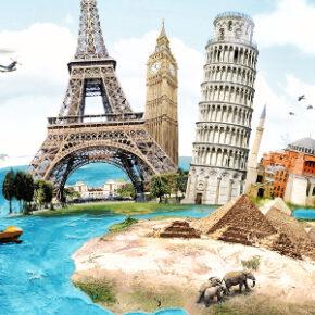 Die ganze Welt gehört Euch: 10 Städte, 7 Länder, 5 Kontinente und einmal um die Welt für nur 1.471€