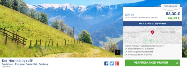3 Tage Tirol Schnäppchen 3105