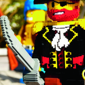 Legoland LEGO Piratenkapitän