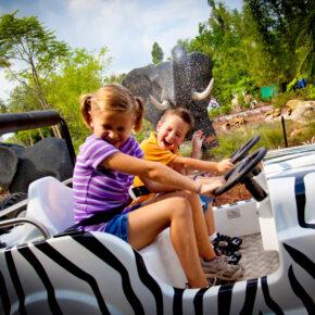 Legoland Land der Abenteuer Safari Tour
