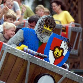 Legoland Land der Ritter Drachenjagd